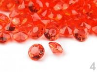 Broušené kapky rosy II. - červené