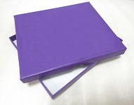 Fotozásobník - krabička tm.fialová - naše svatba