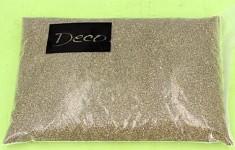 Dekorační písek - zlatý jemný