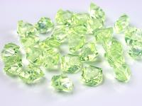 Akrylové krystaly - sv.zelené