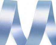 Stuha saténová 15mm - sv.modrá - 1m