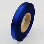 Stuha saténová 10 mm - magicky modrá - 1m