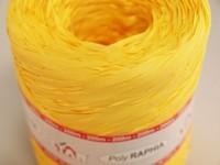 Barevné lýko- raffia žlutá - 1m