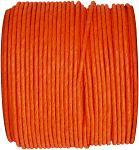 Papírový drátek - oranžový - 1m