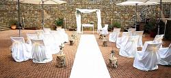 Svatební koberec - běhoun - bílý - 10m - půjčovna