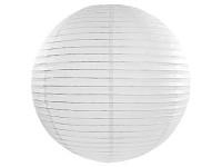 Lampion kulatý 45 cm - bílý