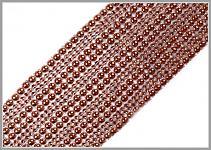 Ozdobný pás (borta) - měděný - 50cm