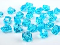 Akrylové krystaly - tyrkysové