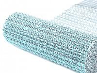 Diamantový pás 12cm/ 1m - sv.modrá