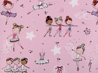 Balicí dárkový svatební papír - nápisy