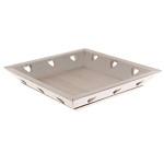Aranžovací tác dřevěný s hvězdami - natur