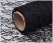 Krajka dekorační černá- 50cm /4,5m