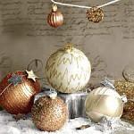 Ubrousky vánoční - stříbrné vločky a zlaté hvězdy