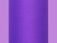 Tyl dekorační tm.fialový - 30 cm/1 m