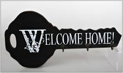 Věšák do předsíně - Welcome home maxi