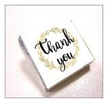 Čokoládka svatební mini - thank you