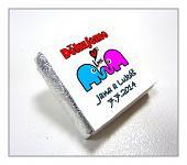 Čokoládka svatební mini - sloni