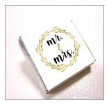 Čokoládka svatební mini - Mr. a Mrs.