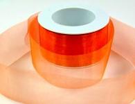 Stuha monofilová -oranžová -1m