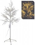 Strom bílý 150 cm - svítící LED světlo