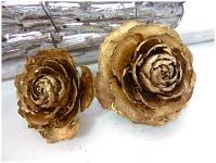 Cedar rose - zlatá - 1ks