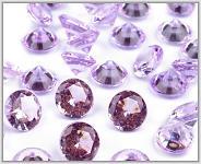 Broušené diamanty malé - sv.fialové II. -340ks
