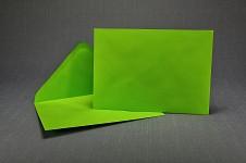 Obálka barevná - jasně zelená