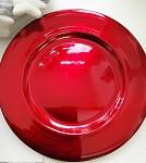 Aranžovací podložka - červená - 17cm