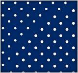 Ubrousky - tm.modré s puntíky