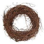Věnec révový - tm.zelený - 20 cm