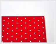 Tvrdý grafický papír - červený s puntíky - A4