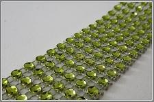Diamantový pás - 1cm/1m - zelený