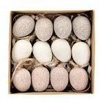 Cukrové vajíčko - závěs - barevný mix - 1 ks