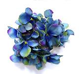 Vazbový květ hortenzie - modrokrémový s lila