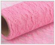 Krajka dekorační růžová - 50cm /4,5m