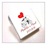 Čokoládka svatební mini - ptáčci na houpačce