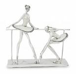 Figurka baleríny u tyče - 27 cm