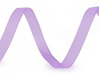 Šifonová stuha sv.fialová 6mm - 1m