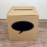 Krabička na peníze - bílá - vše nejlepší