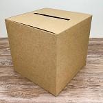 Krabička na peníze (přání) - kraftová