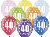 Narozeninové balonky - 40. narozeniny - 1ks