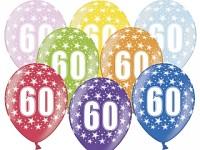 Narozeninové balonky -60. narozeniny - 1ks