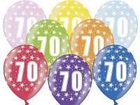 Narozeninové balonky - 70. narozeniny - 1 ks