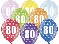 Narozeninové balonky - 80. narozeniny - 1ks