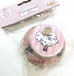 Cukrářské košíčky - cupcakes, muffin - vánoční s andělem 50ks