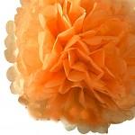 Pom-pom - koule oranžová - 30cm