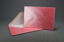 Obálka perleťová - růžová