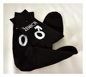 bavlněné ponožky - černé - ženich