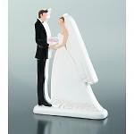 Svatební pár plochý - maxi