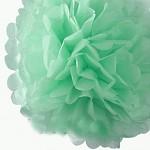 Pom-pom - koule mátová - 35 cm